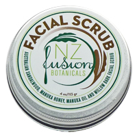 Gentle Facial Scrub with Sandalwood and Manuka